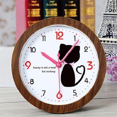 Creative Lovely Cat Clock