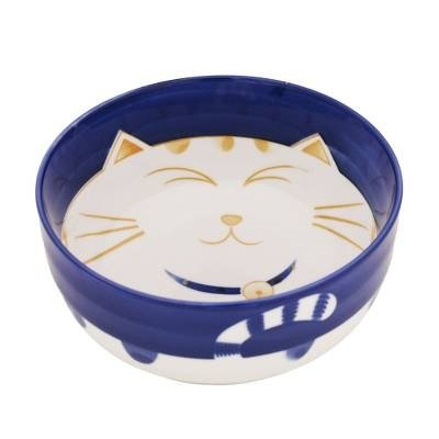 The Cat's Meow Contented Kitty Porcelain Soup Bowl