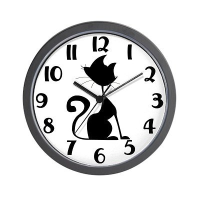 Cat Lover - Unique Decorative 10 inch Wall Clock