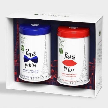 Palais Des Thes Paris for Him and Her Tea Gift Box Set