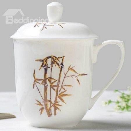Wonderful Chinese Traditional Bamboo Bone China Tea Cup