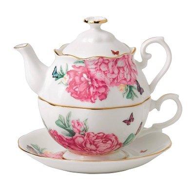 Friendship Tea for One, White
