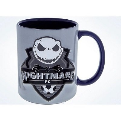 Disney Parks Jack Skellington Nightmare FC Soccer Ceramic Coffee Mug