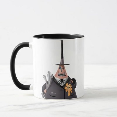 Mayor Of Halloween Town Smiling Face Mug