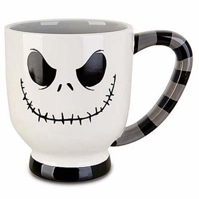disney parks jack skellington white stripes 20 oz coffee mug