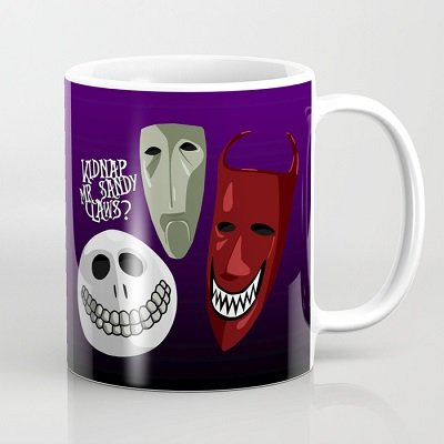 Kidnap Mr Sandy Claws? Coffee Mug