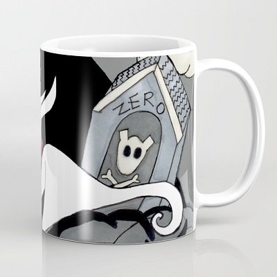 Zero From the Grave Coffee Mug
