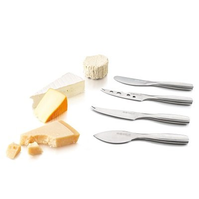 Boska Holland Monaco Stainless Steel 4-Piece Mini Cheese Knife Set
