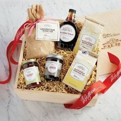 Monticello Breakfast Favorites Gift Box