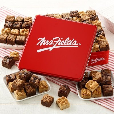Mrs. Fields Signature Brownie Bites Tin